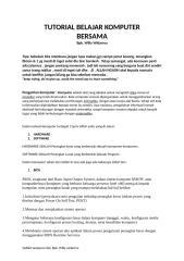 tutorial belajar komputer.docx