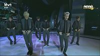 [HD] EXO - Growl Remix Cut at MAMA 2013 (mirrored and slowed 50%).mp4