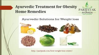 Ayurvedic Treatment for Obesity Home Remedies (1).ppt