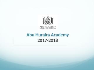 AHC Academy 2017-2018.pptx