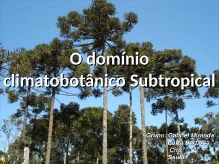 (2) Subtropical.ppt