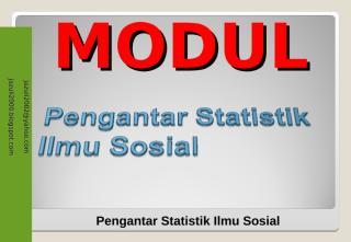 pengantar statistik sosial.ppt