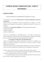 COMPTE RENDU FORMATION ABA.doc