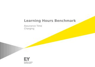 Assurance - Learning Hours Benchmark.pptx
