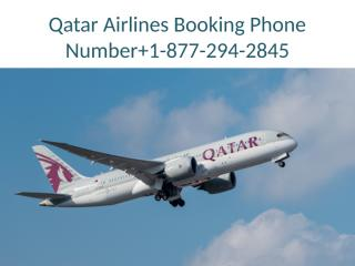 Qatar Airlines Booking Phone Number.pptx