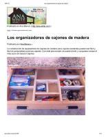 Los organizadores de cajones de madera.pdf