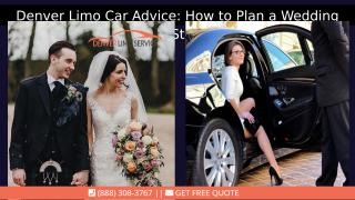How to Plan a Wedding Ceremony Step by Step with denver limo service.pptx